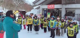 口南小学校スキー教室