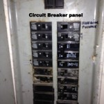 25 Circuit breaker panel