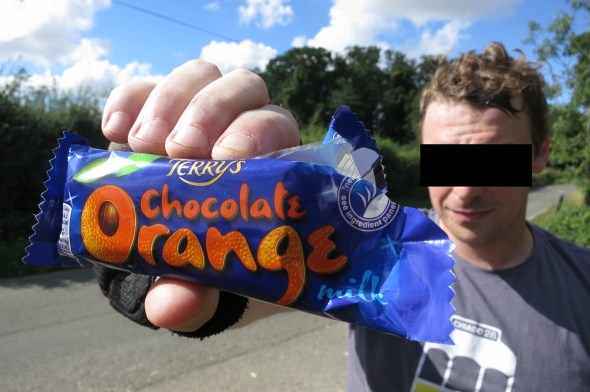 Warham chocolate orange