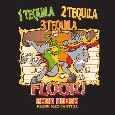 1, 2, 3, Tequila T-Shirt