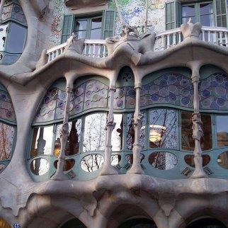 Casa Batllo facade close up