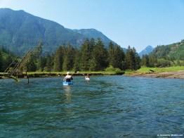 Kayaking Tzoonie River