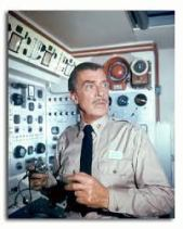 Walter Pidgeon in Voyage to the Bottom of the Sea