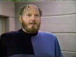 David Ogden Stiers in Star Trek: TNG