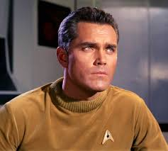 Jeffery Hunter in Star Trek