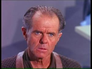 Elisha Cook Jr. in Star Trek.