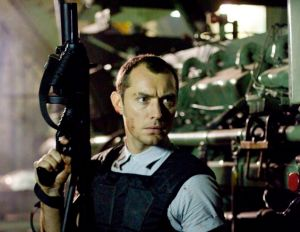Jude Law in Repo Men.