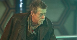 John Hurt (when he is not incubating aliens) as Doctor Who.