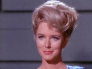 Barbara Babcock in the Star Trek episode, A Taste of Armageddon.