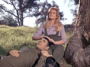 Jill Ireland as Leila Kalomi in the Star Trek episode, This Side of Paradise.
