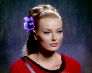 Celeste Yarnall as Yeoman Martha Landon in Star Trek