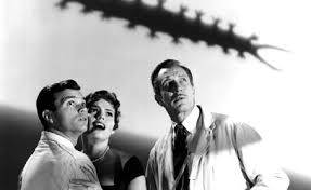 Darryl Hickman (left) in The Tingler