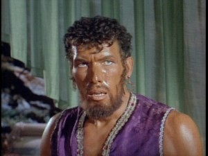 Ted Cassidy as the slave in the Lost in Space episode, The Thief of Outer Space.