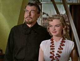 Walter Pidgeon in Forbidden Planet