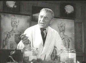 Edward Van Sloan in Frankenstein