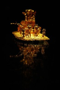 Offerbåt i guld, Museo del Oro
