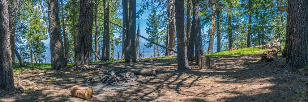 Camping Area Panorama