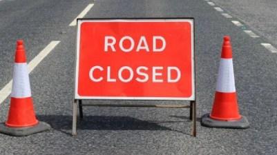 Road Closed Sign