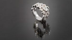 Free-Form Swirl Ring