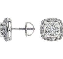 WC6850D e1518480047916 - Halo Diamond Earrings