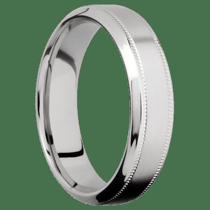 download 5 - Cobalt Chrome Angle Satin Finish Men's Ring