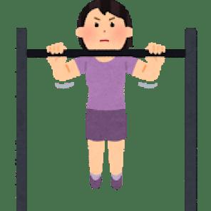 背筋を鍛える(懸垂)