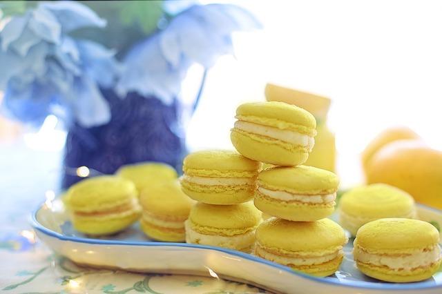 黄色いお菓子