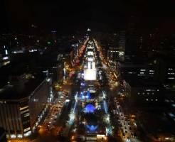 札幌 大通公園 夜景