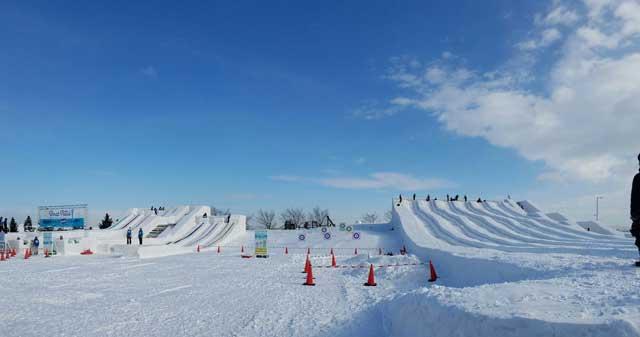つどーむ スノースライダー 冬