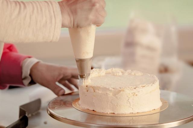 ケーキで生クリームの代用にできるものは?