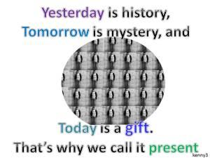 1日86,000秒のプレゼントの使い方