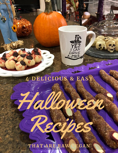 4 Delicious & Easy Halloween Recipes that Are Raw Vegan