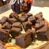 Halloween Pumpkin Fudge Raw Vegan