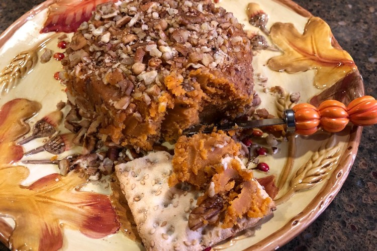 Raw Vegan Thanksgiving Cheese Ball
