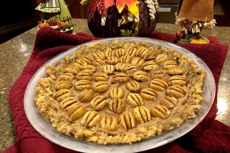 Raw Vegan Pecan Pie for Thanksgiving