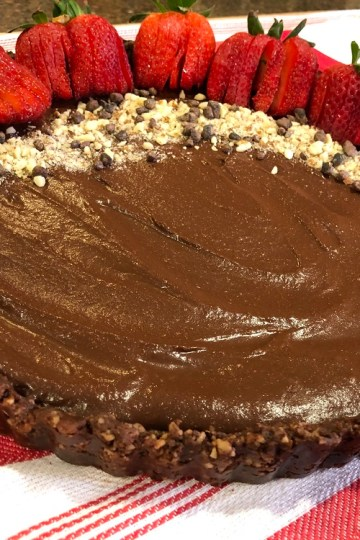 Raw Vegan Chocolate Tart