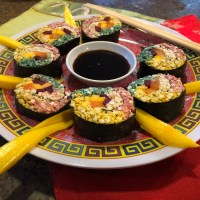 Raw Vegan Sushi Rolls
