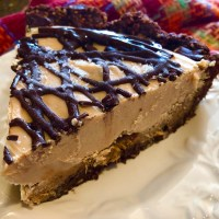 Raw Vegan Snickers Pie