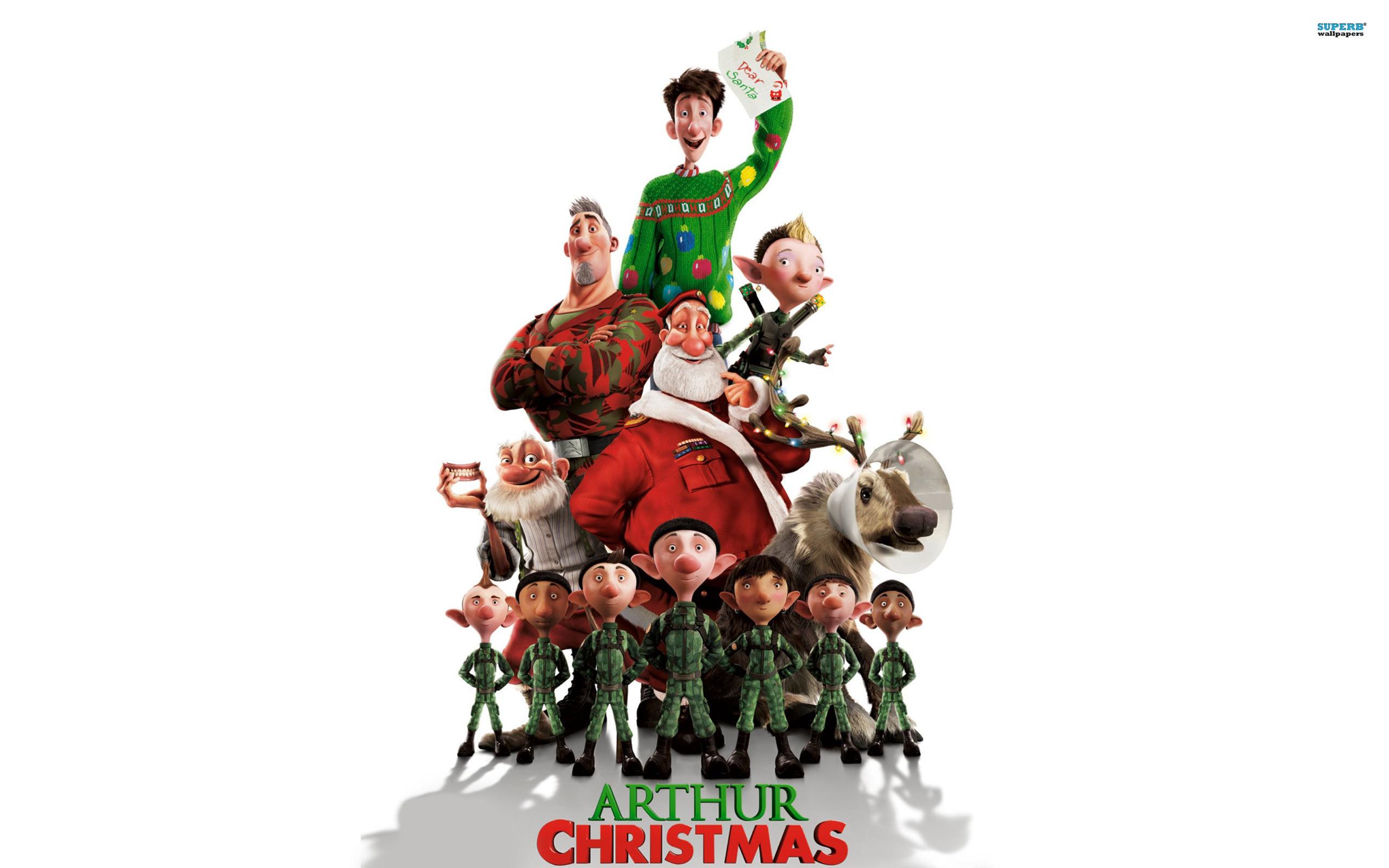 Arthur Christmas Movie Review Amp Happy Holidays