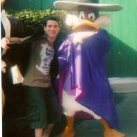 Launchpad McQuack, Darkwing Duck, Stromboli and Sebastian at Walt Disney World