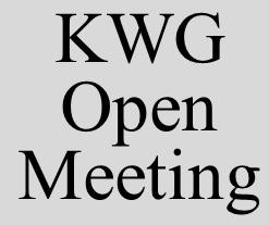 KWG Open Meeting