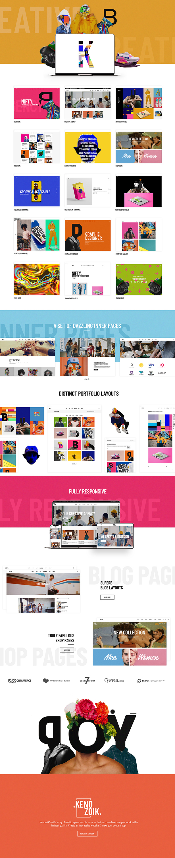 Kenozoik - Vibrant Portfolio Theme - 1