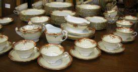 Vintage Limoges china dinner service