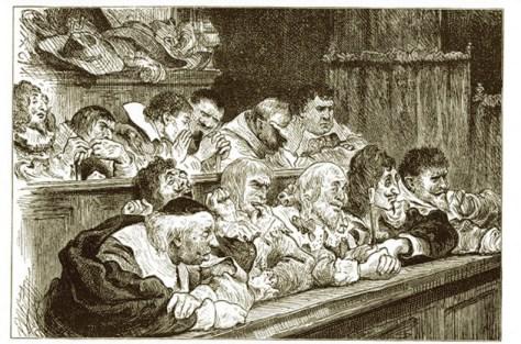 Jury at Vanity Fair