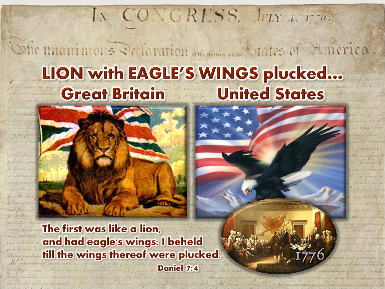 Lion - Eagle Wings