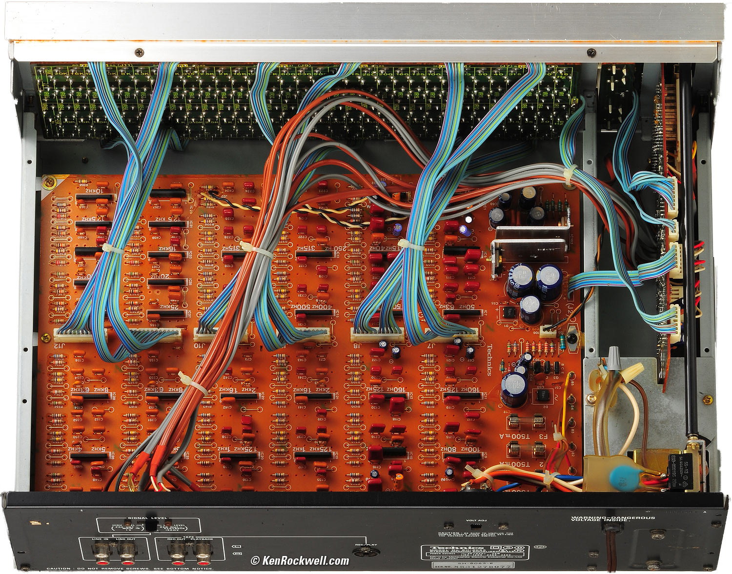 hight resolution of technics sh 8065 33 band stereo graphic equalizer 1982 1987 wiring diagram for a technics equalizer get free image about wiring