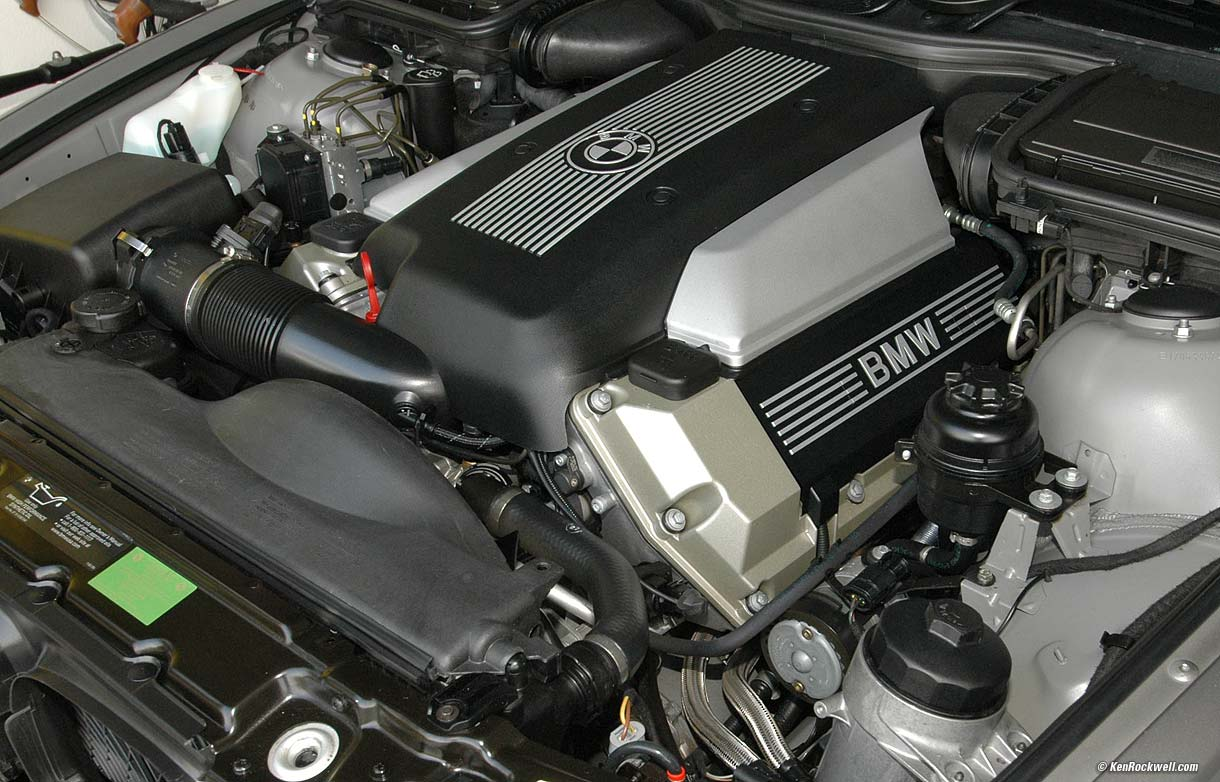 hight resolution of bmw 540 540i engine