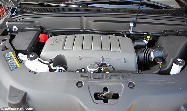 2008 Buick Enclave Battery Location
