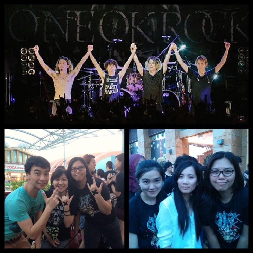 LIVE REPORT: ONE OK ROCK