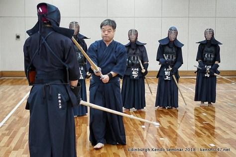 Yano sensei teaching